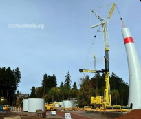 LTM 1750 - Windpark Losheim