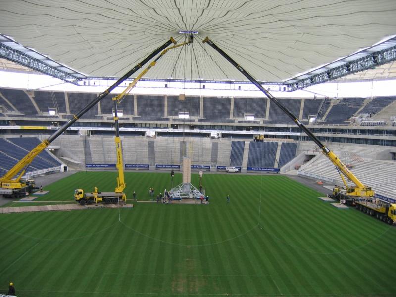 Ausbau Commerzbank Arena